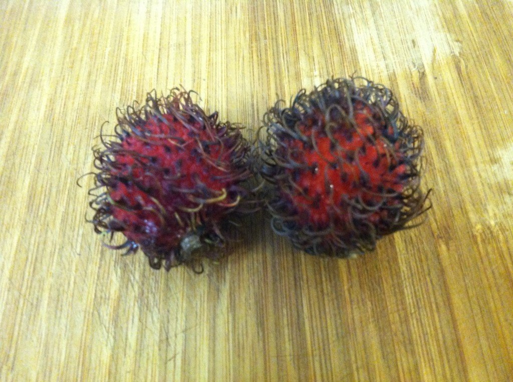 Rambutan: Looks like a hairball, but does it taste like one