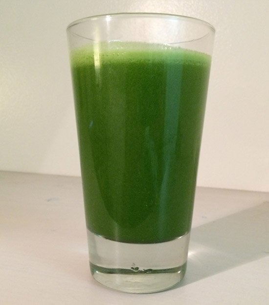 apple spinach kale parsley ginger broccoli juice