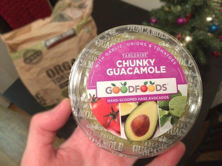 goodfoods tableside chunky guacamole