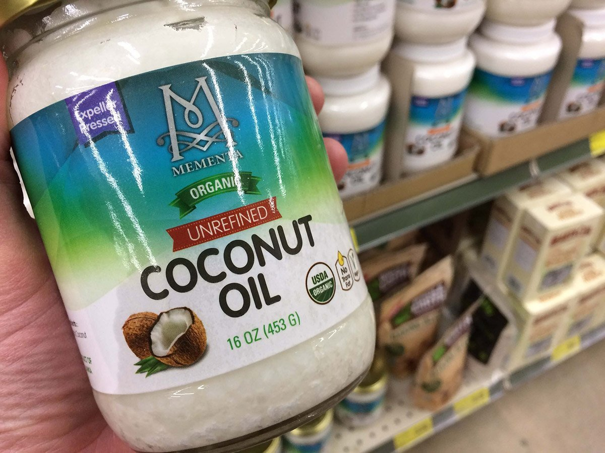 grocery outlet coconut oil nosh