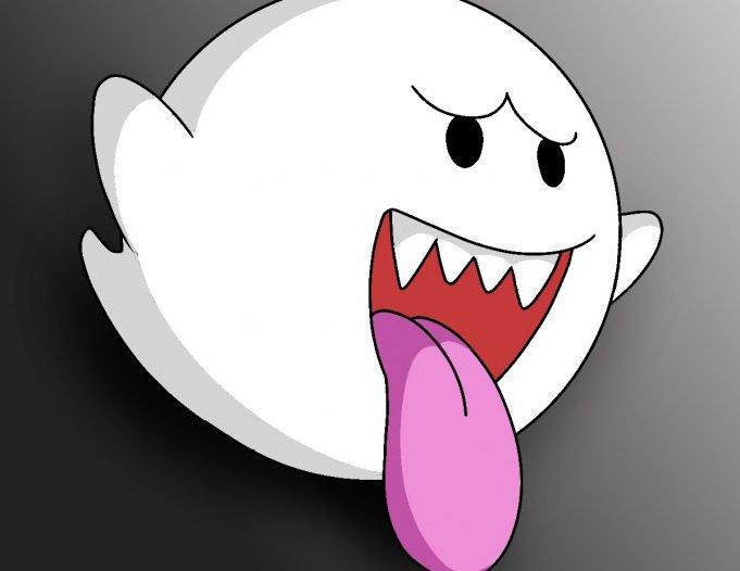 mario boo ghost