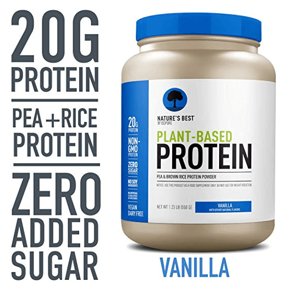 Nature's Best Protein Powder