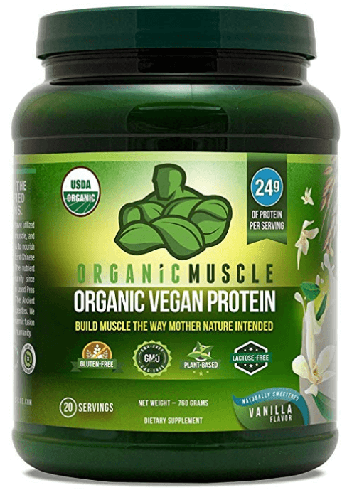 Organic Muscle Protein Powder